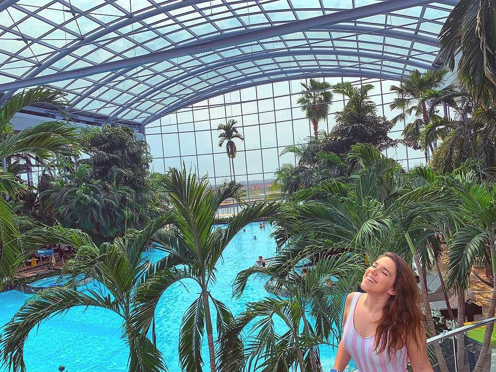 Termas de Bucarest, zona Palm